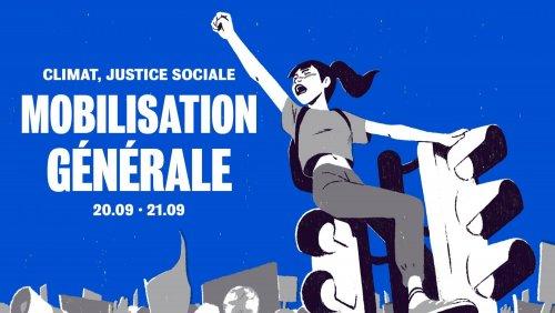JUSTICE SOCIALE – URGENCE ÉCOLOGIQUE – MOBILISATION GÉNÉRALE